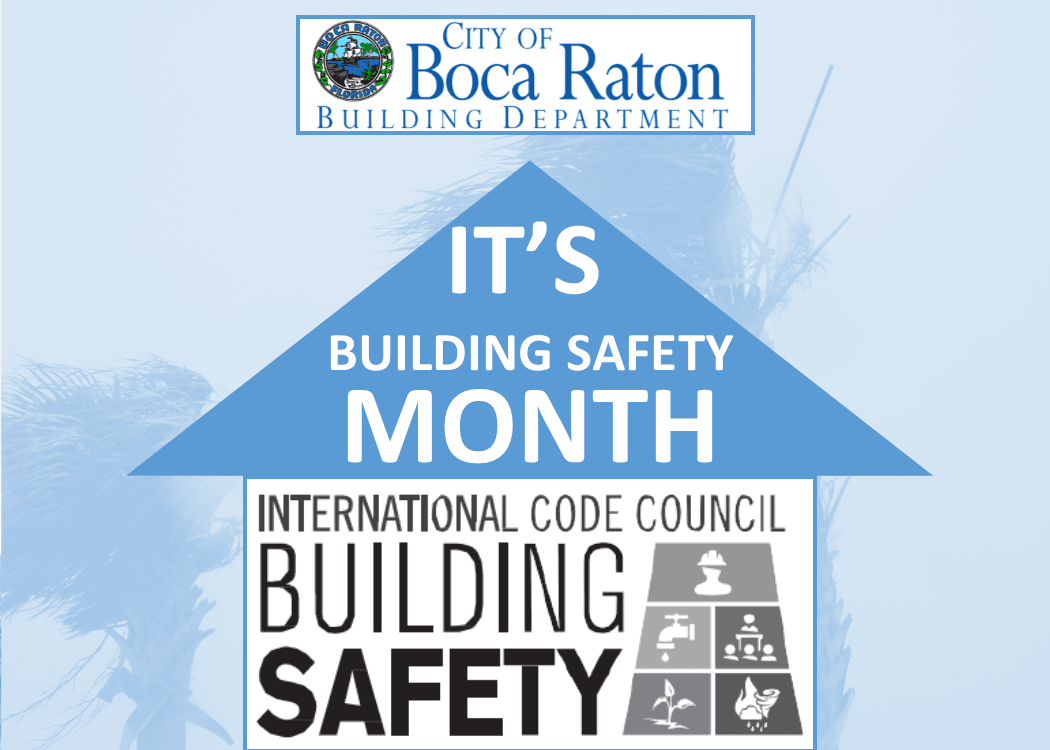 Building permits and inspections boca raton fl building safety month poster malvernweather Images