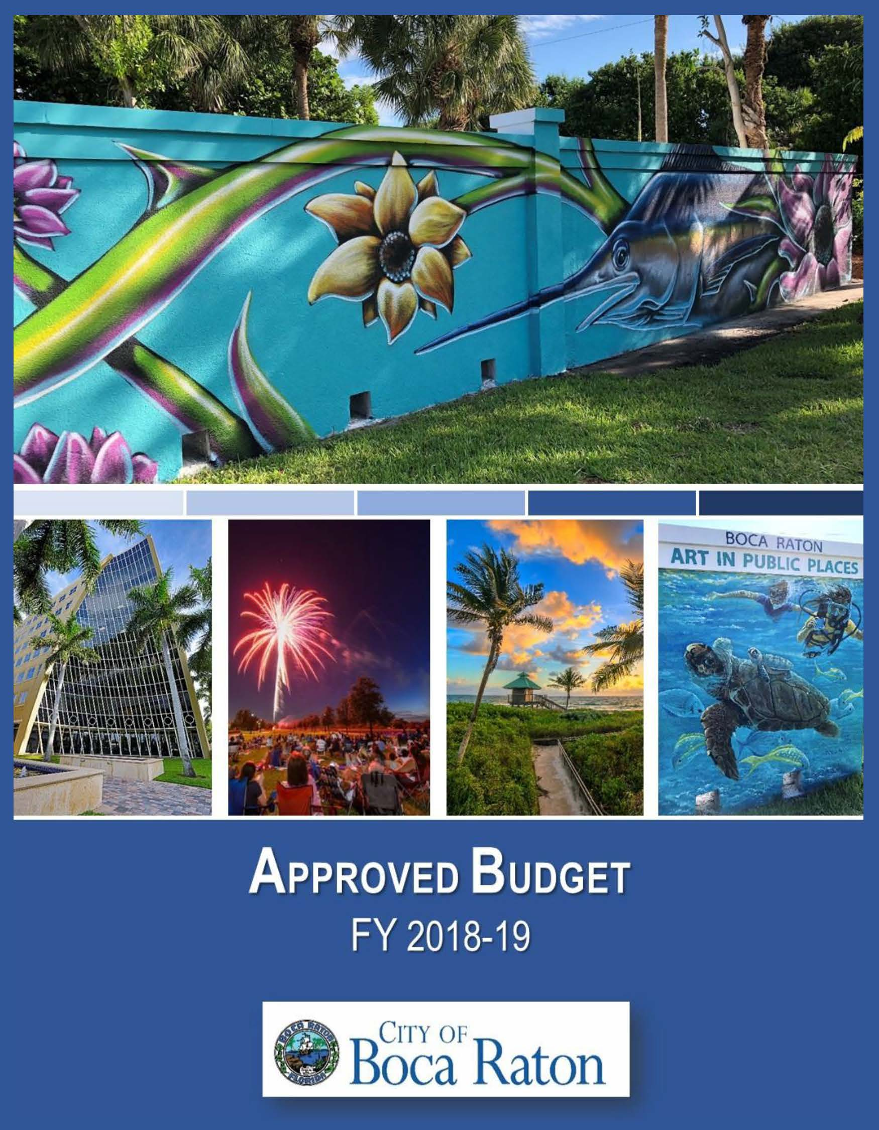 Approved Budget FY 2018-2019 Cover