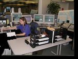 911 Operator in the Communications Center