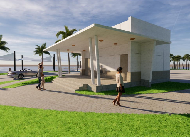 Silver Palm Park Bathroom Rendering 1 Opens in new window