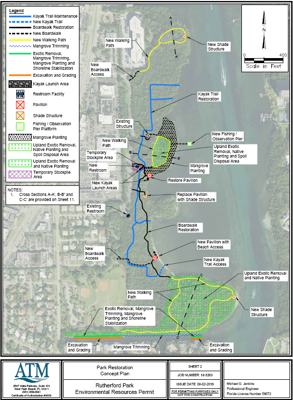 Updated plan and concept for improvements to Lake Wyman and Rutherford Park waterfront Opens in new window
