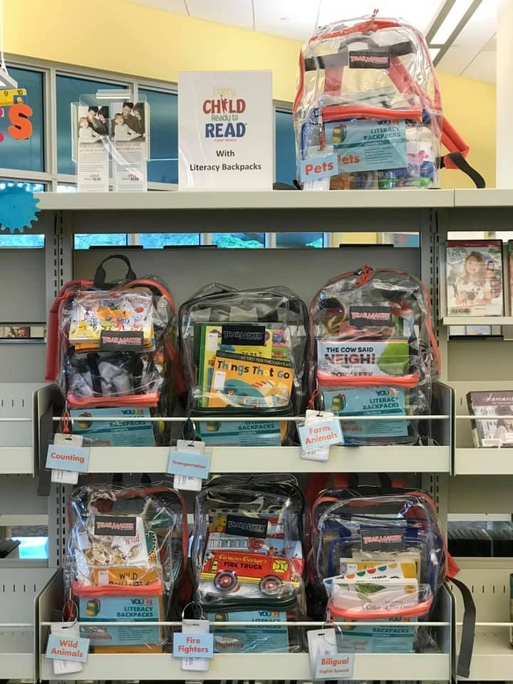 Literacy Backpacks Photo Opens in new window