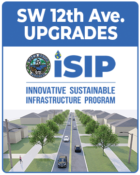SW 12th Ave Upgrades - iSIP Innovative Sustainable Infrastructure Program