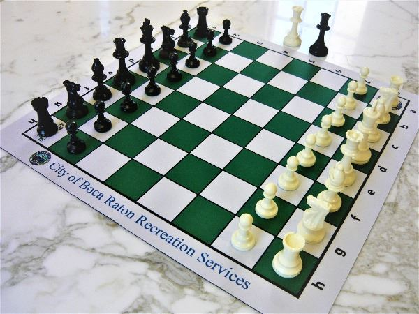 chess set for checkout